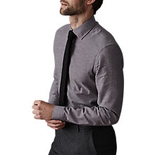 Buy Reiss Cody Cotton Linen Melange Weave Slim Fit Shirt Online at johnlewis.com