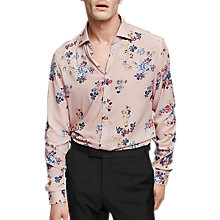Buy Reiss Honour Floral Print Slim Fit Shirt Online at johnlewis.com