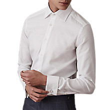 Buy Reiss Farrow Cotton Slim Fit Shirt, White Online at johnlewis.com