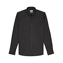 Buy Reiss Tucci Shirt, Charcoal Online at johnlewis.com