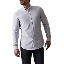 Buy Reiss Taylor Shirt, Soft Blue Online at johnlewis.com