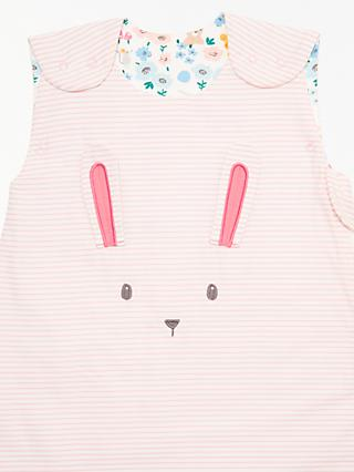 John Lewis Partners Baby Bunny Stripe Sleep Bag 25 Tog Multi