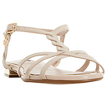 Buy Dune Newark Strappy Flat Sandals Online at johnlewis.com