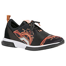 Buy Ted Baker Cepap Lace Up Trainers, Multi Online at johnlewis.com