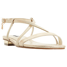 Buy Dune Nenna Cross Strap Sandals Online at johnlewis.com