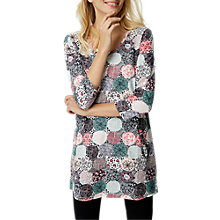 Buy White Stuff Greta Spot Jersey Tunic Dress, Multi Online at johnlewis.com