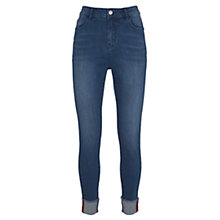 Buy Mint Velvet Austin Turn Up Jeans, Indigo Online at johnlewis.com