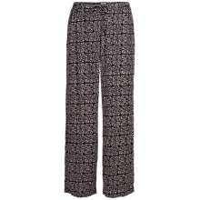 Buy Fat Face Sea Star Wide Leg Trousers, Black/Multi Online at johnlewis.com