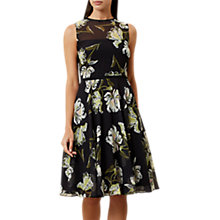 Buy Hobbs Eve Dress, Black/Multi Online at johnlewis.com
