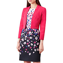 Buy Hobbs Imogen Jacket, Bright Pink Online at johnlewis.com