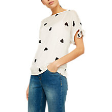 Buy Mint Velvet Camilla Print Top, Multi Online at johnlewis.com