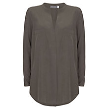 Buy Mint Velvet Pocket Front Tunic, Dark Green Online at johnlewis.com