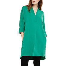Buy Phase Eight Kathy Shirt Dress, Malachite Green Online at johnlewis.com