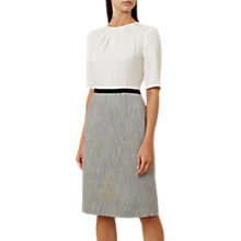 Buy Hobbs Adalyn Dress, Silver Grey Online at johnlewis.com