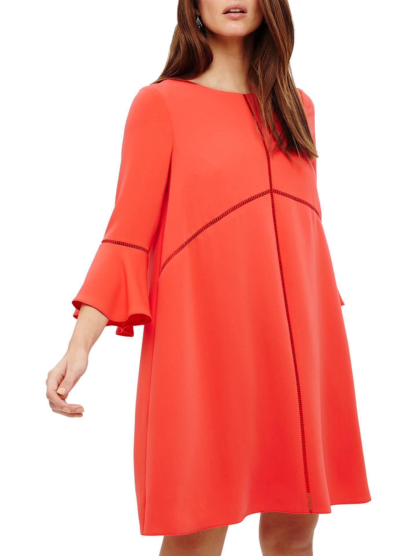 79ab41c2152c1 Buy Phase Eight Suriaiya Swing Dress, Pink Coral, 8 Online at johnlewis.com  ...