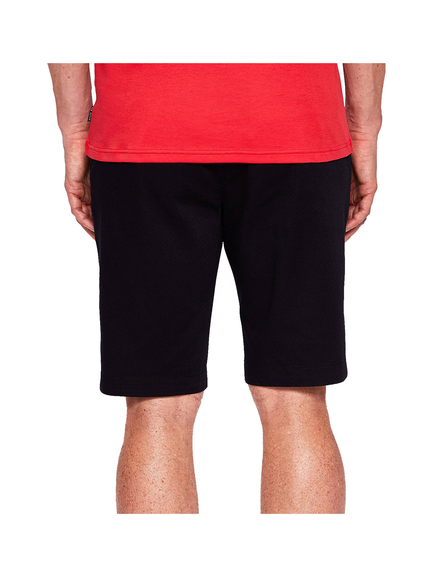 Buy Ted Baker T for Tall Smartt Slim Fit Shorts, Navy, 34T Online at johnlewis.com