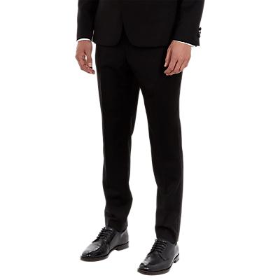 Ted Baker Satjont Satin Lapel Dress Suit Trousers, Black