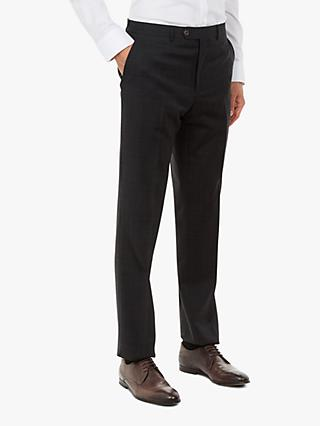Ted Baker Performance Tivityt Tonal Check Suit Trousers, Grey
