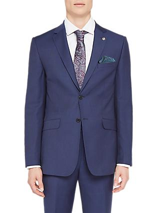 Ted Baker Rokoj Sovereign Birdseye Suit Jacket, Navy