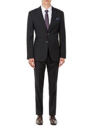 Ted Baker Performance Tivityj Tonal Check Suit Jacket, Grey