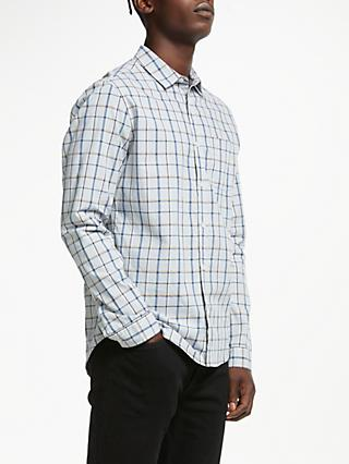 Kin Check Shirt, Grey