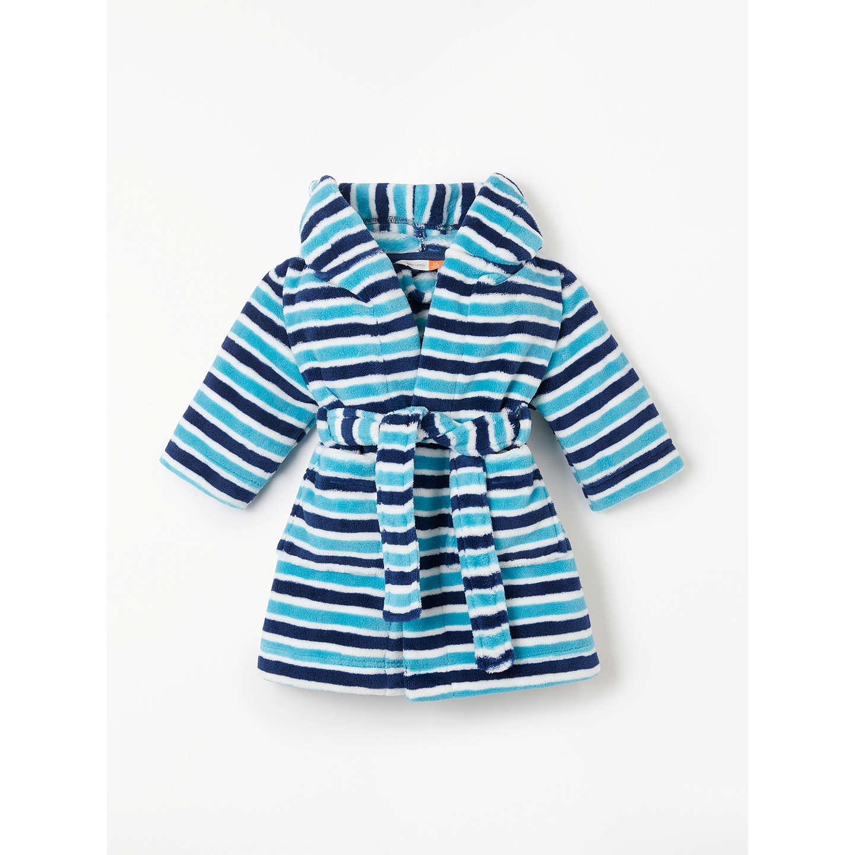 John Lewis Baby Stripe Dressing Gown at John Lewis