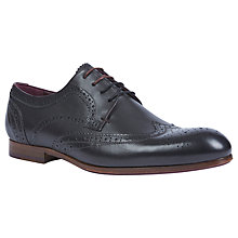 Buy Ted Baker Granet Oxford Brogues, Black Online at johnlewis.com