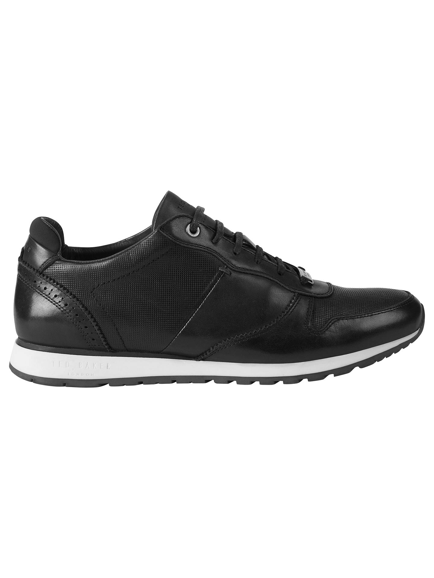 d7174692672ea Ted Baker Shindl Leather Running Shoes at John Lewis   Partners