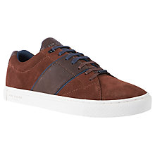 Buy Ted Baker Dannez Derby Cupsole Trainers Online at johnlewis.com