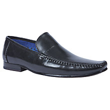 Buy Ted Baker Bly Leather Loafers, Black Online at johnlewis.com