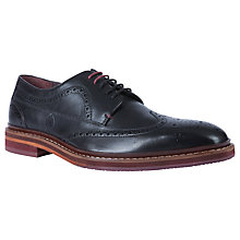 Buy Ted Baker Gourdon Derby Brogue Shoes Online at johnlewis.com