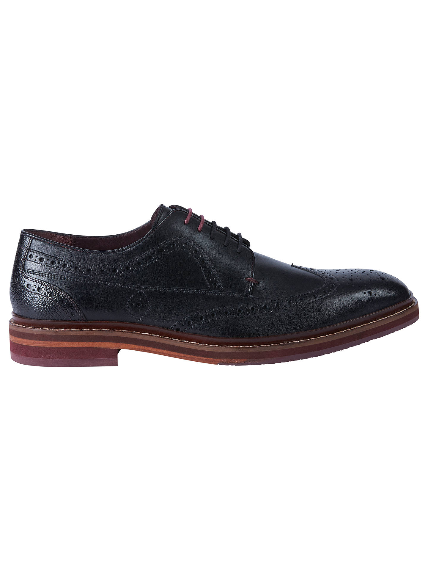 adbf452be170c Ted Baker Gourdon Derby Brogue Shoes at John Lewis   Partners
