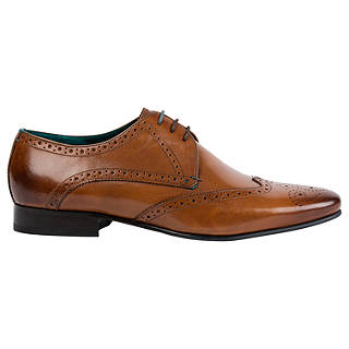 Ted Baker Hosei Pointed Brogues, Brown