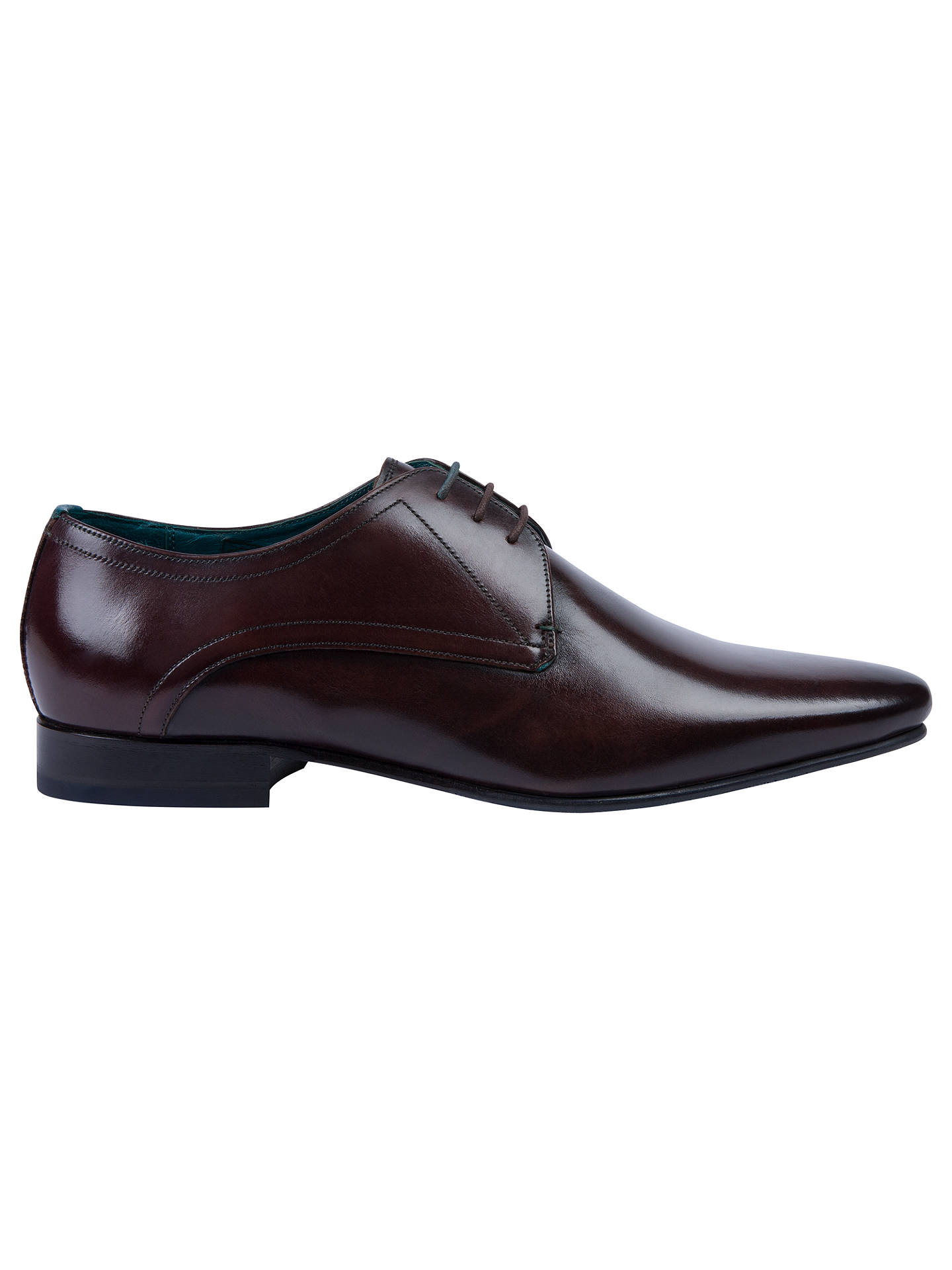 990b406d3 Ted Baker Bhartli Pointed Derby Shoes at John Lewis   Partners
