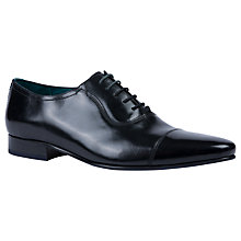 Buy Ted Baker Karney Pointed Toe Cap Oxford Shoes Online at johnlewis.com