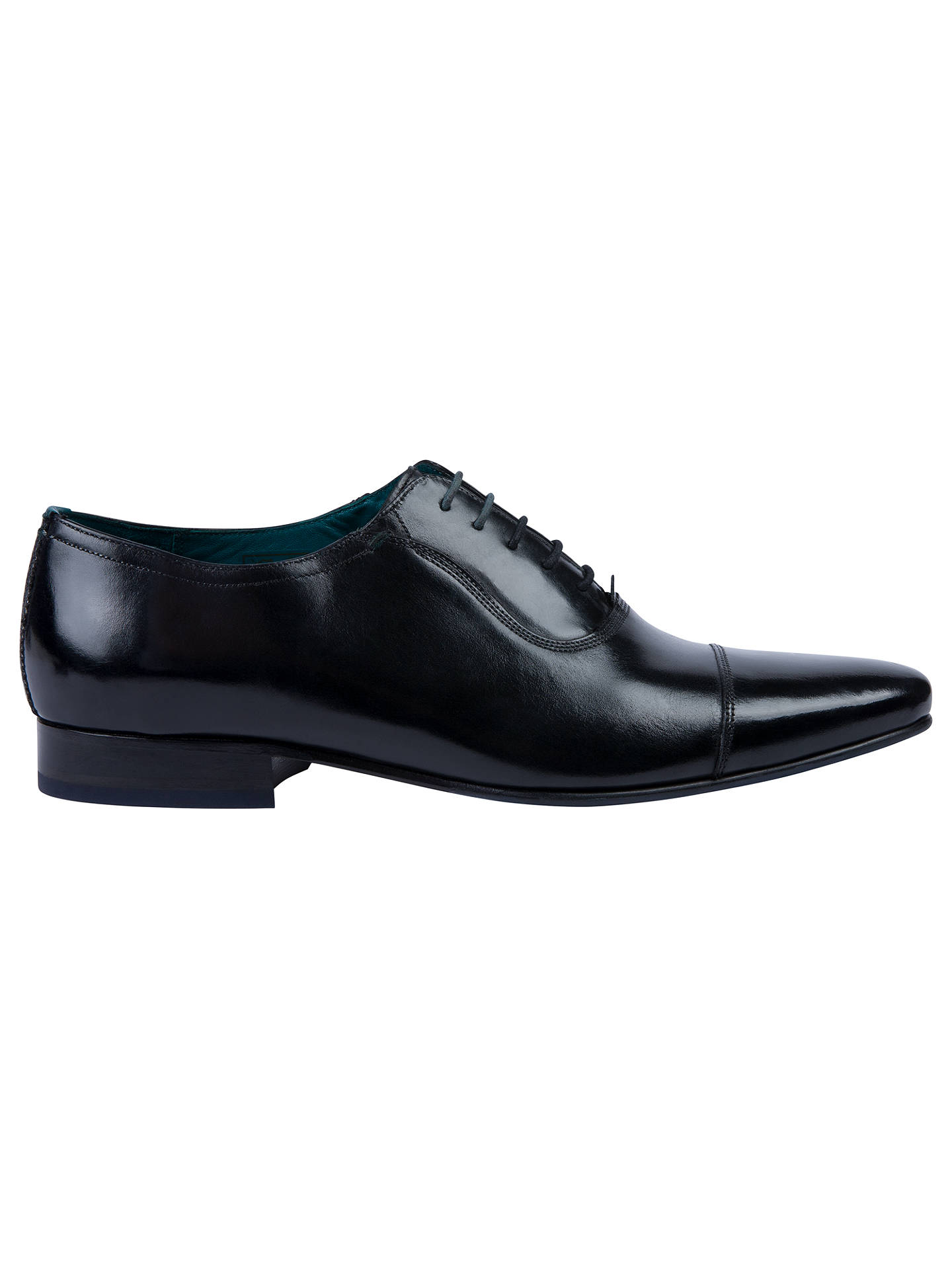 00dffc97785d Ted Baker Karney Pointed Toe Cap Oxford Shoes at John Lewis   Partners