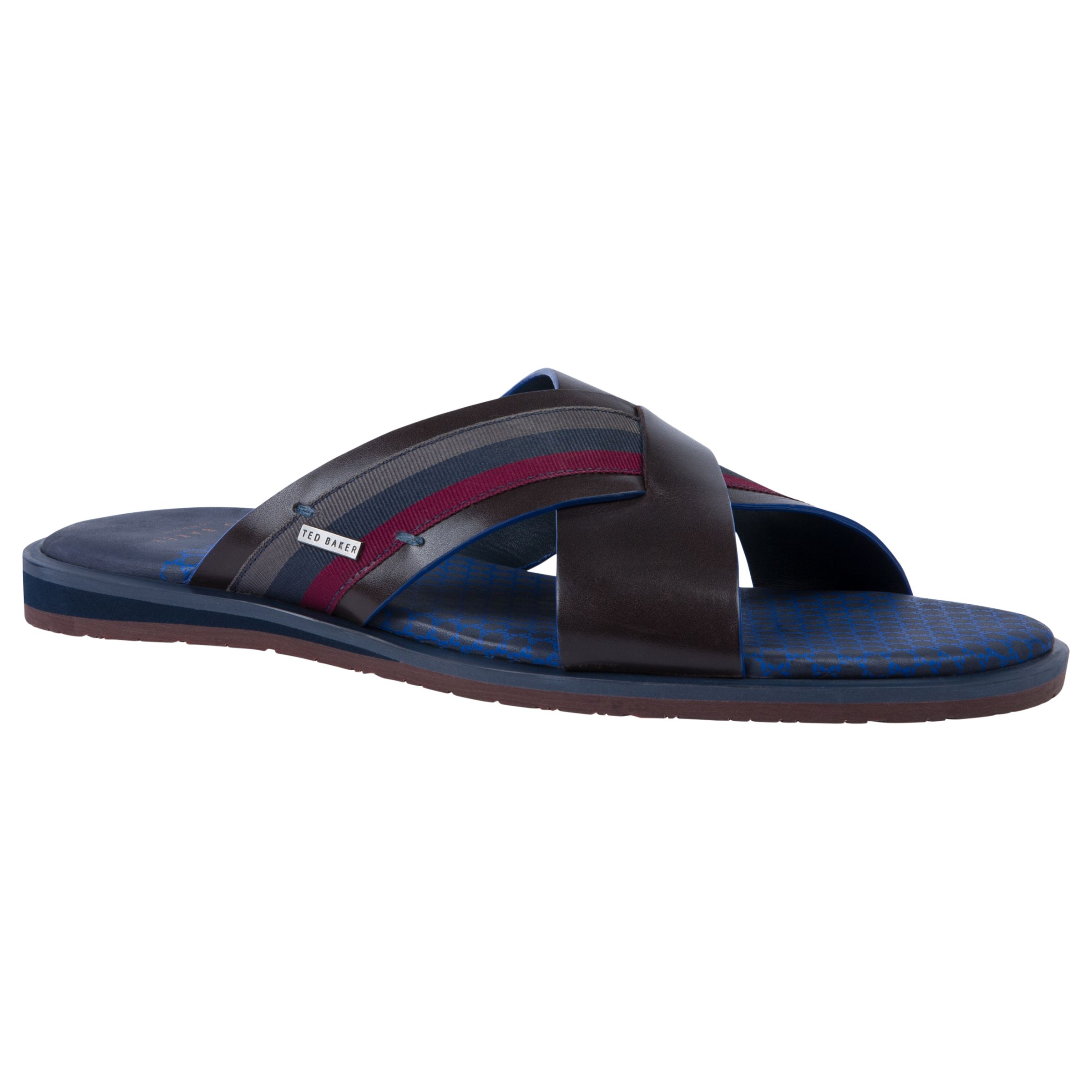 6c2d196fc1123e Ted Baker Farrull Cross Over Sandals at John Lewis   Partners
