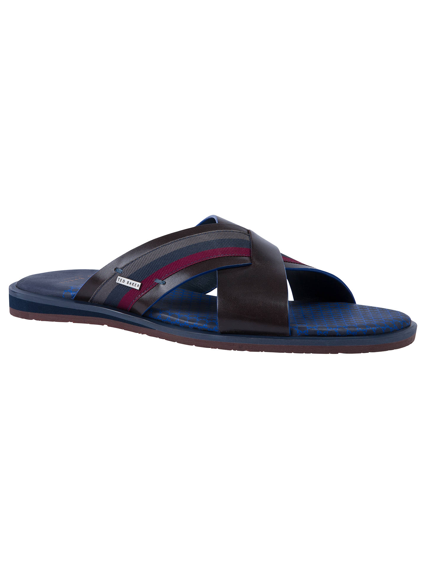 a34bca0f2 Ted Baker Farrull Cross Over Sandals at John Lewis   Partners