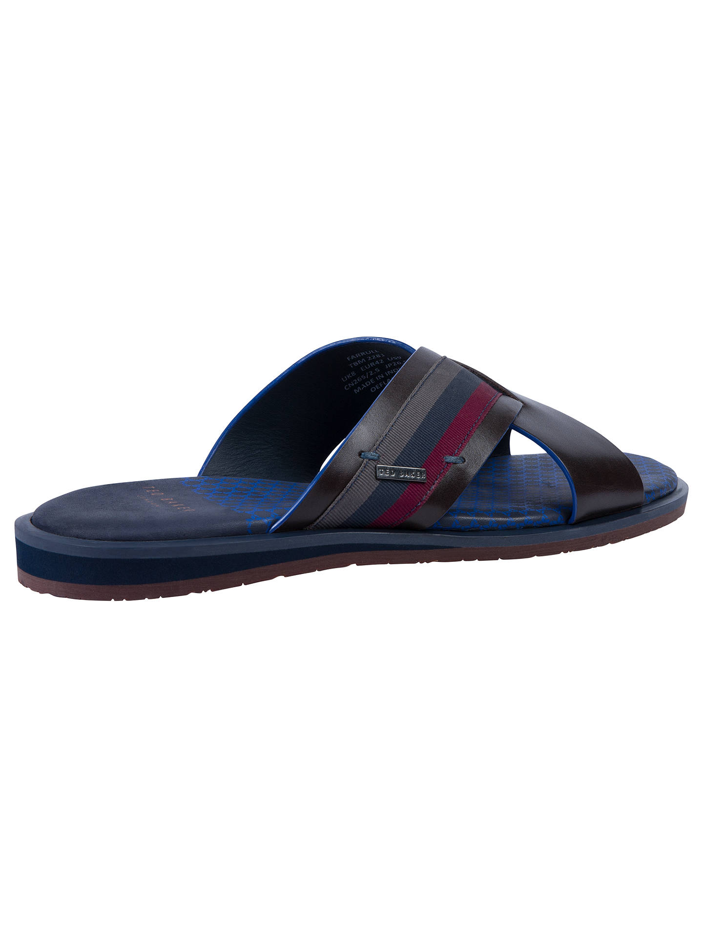 438a3dd0d Ted Baker Farrull Cross Over Sandals at John Lewis   Partners