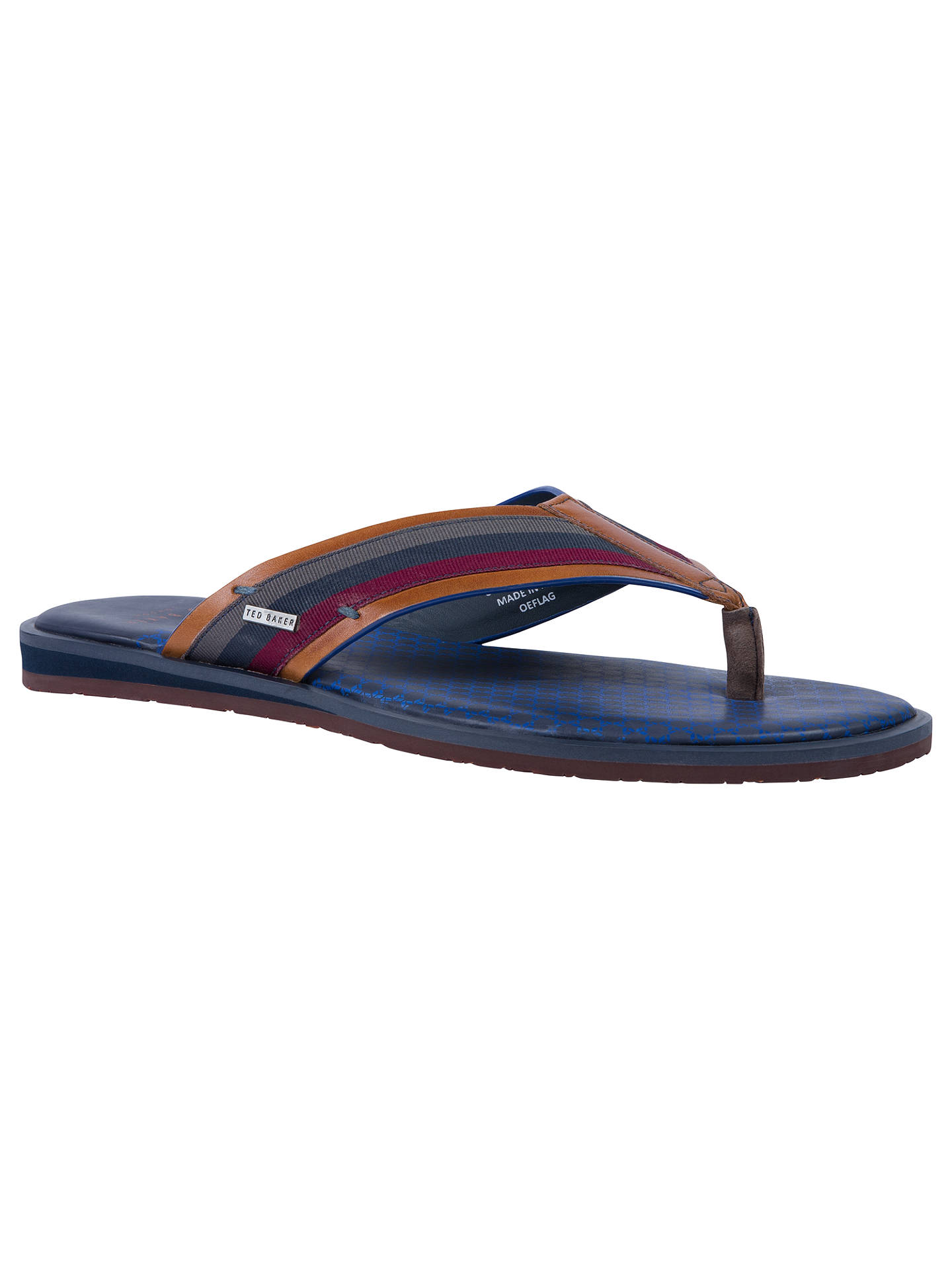 531436f99426 Ted Baker Knowlun Toe Post Sandals at John Lewis   Partners