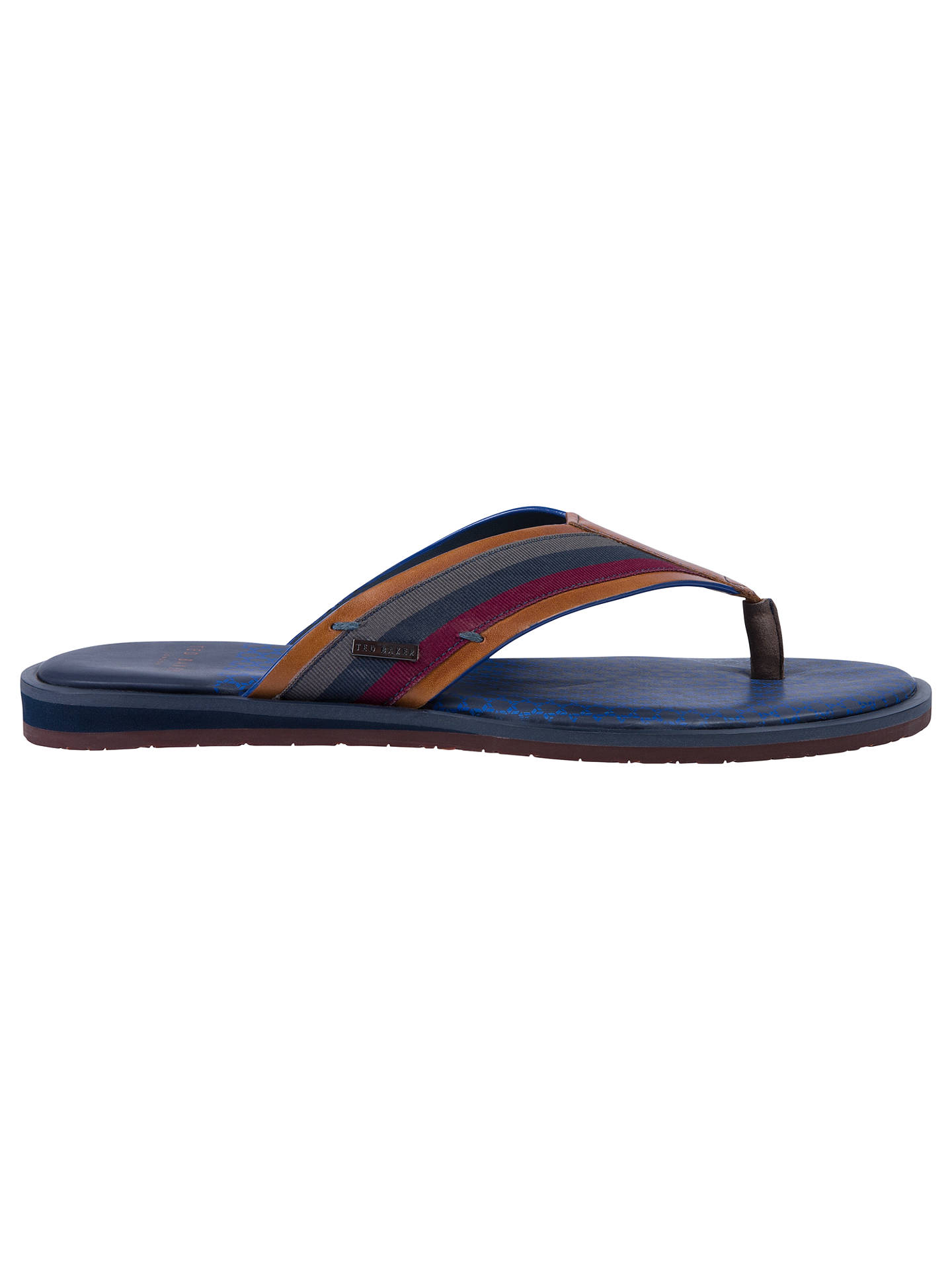 74a8f1a86e73 Ted Baker Knowlun Toe Post Sandals at John Lewis   Partners