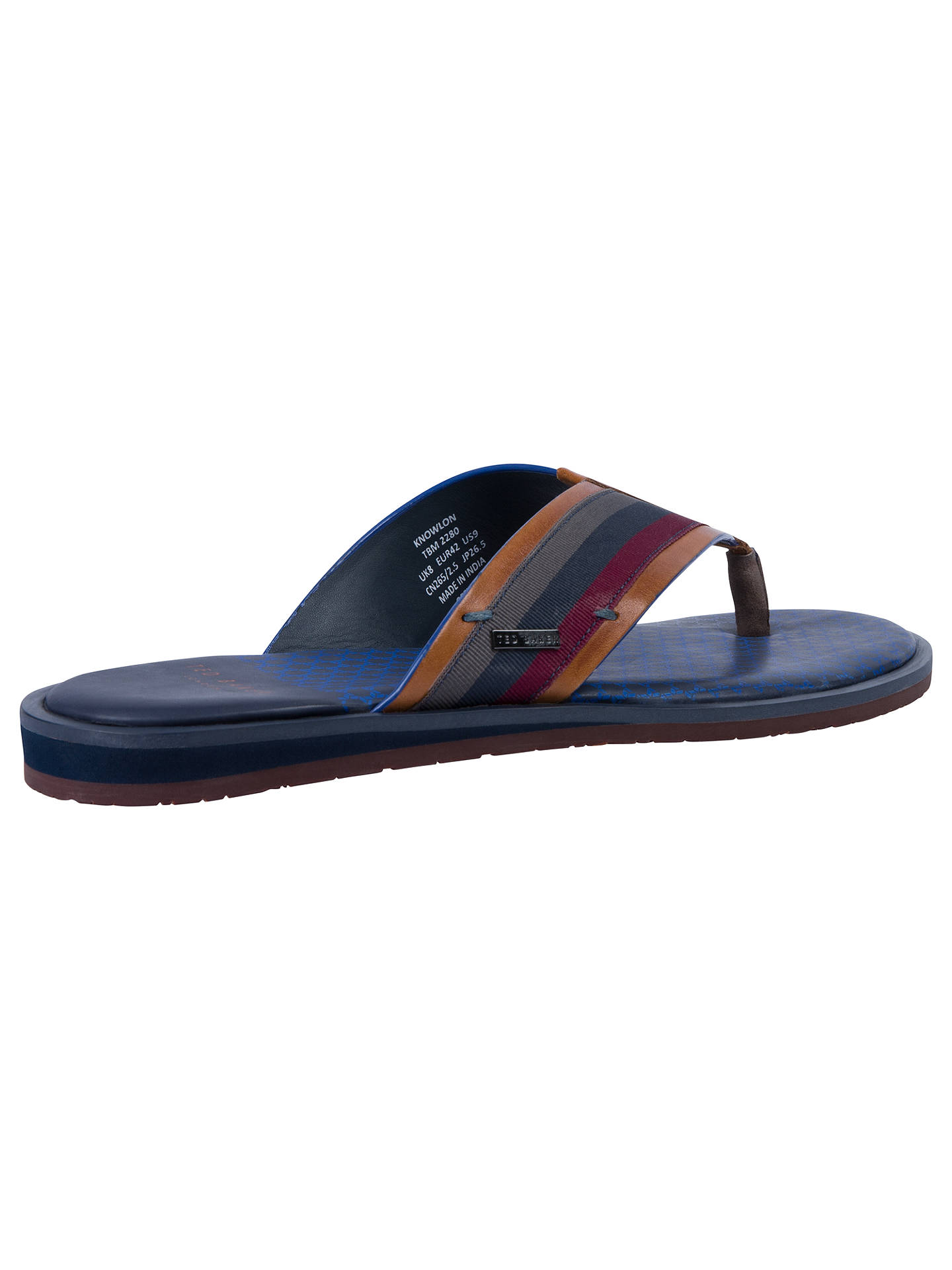 df8c00780dc3 Ted Baker Knowlun Toe Post Sandals at John Lewis   Partners