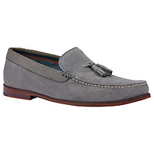 Buy Ted Baker Dougge Suede Tassel Loafers Online at johnlewis.com