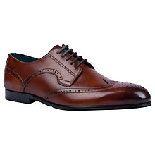 Buy Ted Baker Larrily Almond Toe Brogues Online at johnlewis.com