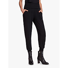 Buy AllSaints Darcie Joggers, Black Online at johnlewis.com