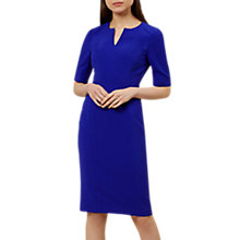 Buy Hobbs Mae Dress, Cobalt Online at johnlewis.com