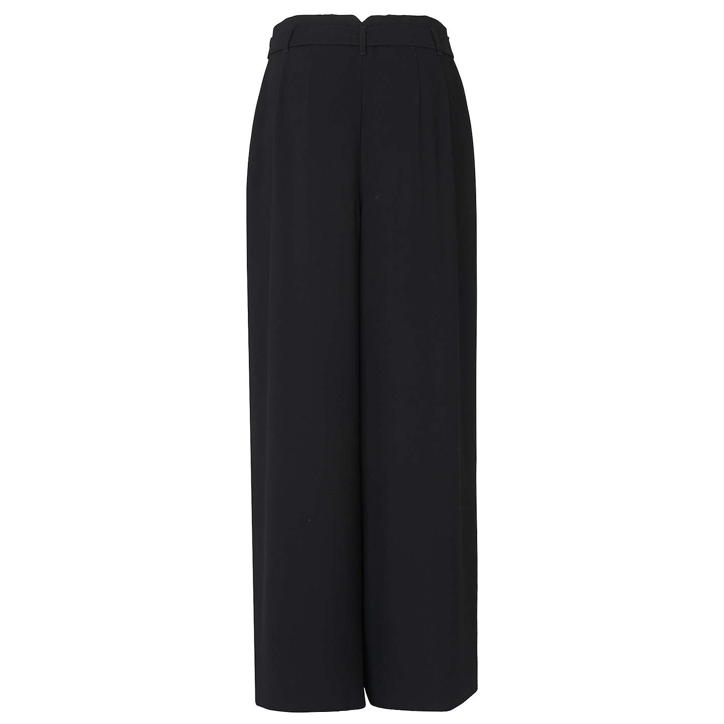 BuyL.K.Bennett Cora Trousers, Black, 6 Online at johnlewis.com