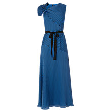 Buy L.K.Bennett Belle Stripe Dress, Blue/Black Online at johnlewis.com