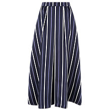 Buy L.K.Bennett Natalee Skirt, Blue/Multi Online at johnlewis.com