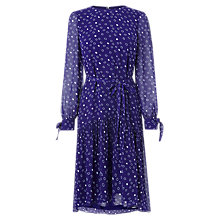 Buy L.K.Bennett Perl Dress, Violet Online at johnlewis.com
